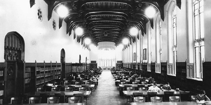 see the Bizzell memorial library on the OU campus