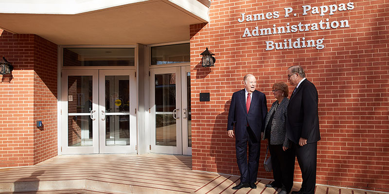 OU Dedicates Building to Former Dean James P. Pappas