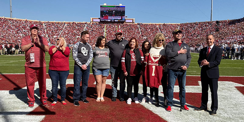 Purple Heart Recipient Honored as Patriot of the Game