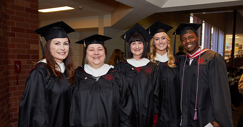 Photo Highlights from the Winter 2018 Convocation