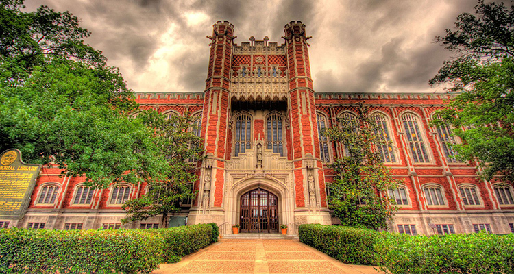 What makes the OU campus so beautiful?