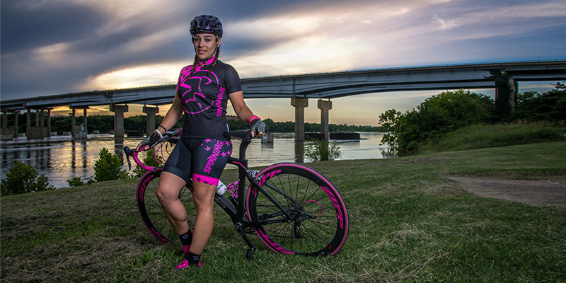 Organizational Leadership Student Helps Others Through Cycling Program
