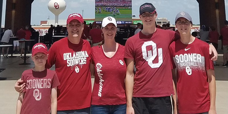Service Members Honored During OU Football Season