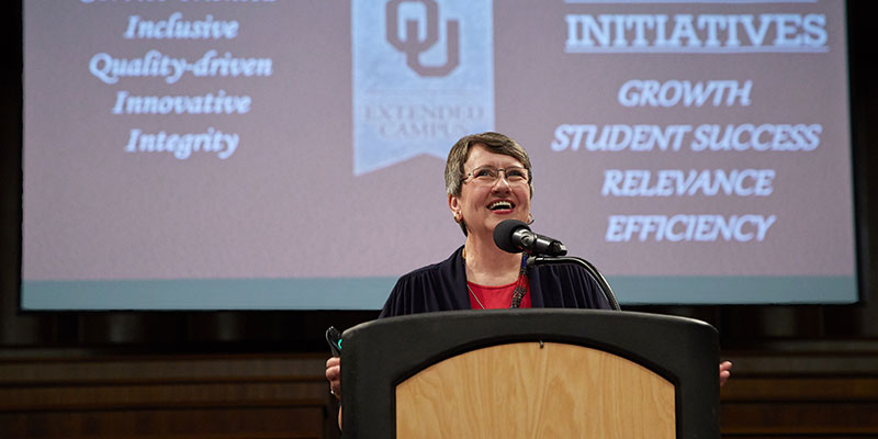 Core Values Drive OU Extended Campus Toward Mission of Student Success