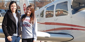 OU Students Compete at 2011 Women's Air Race Classic
