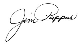 Dean Jim Pappas Signature
