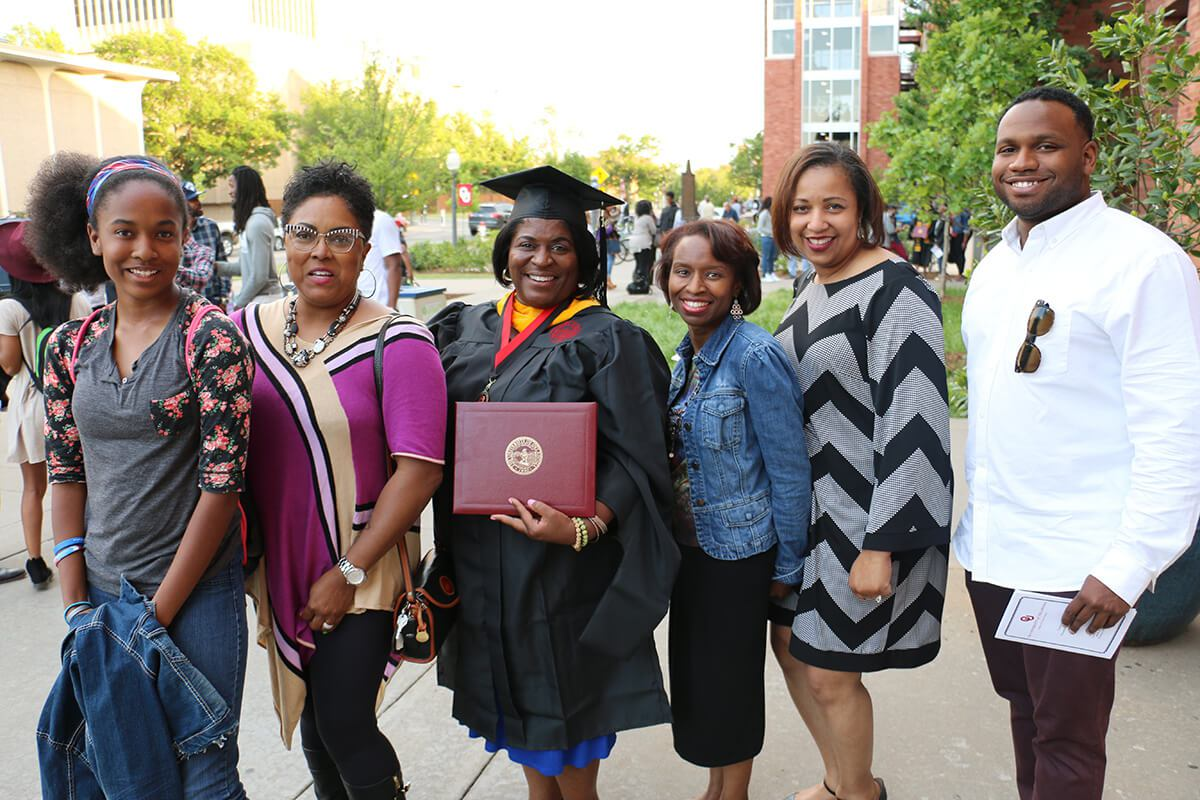 OU graduates at the 2016 CLS Convocation