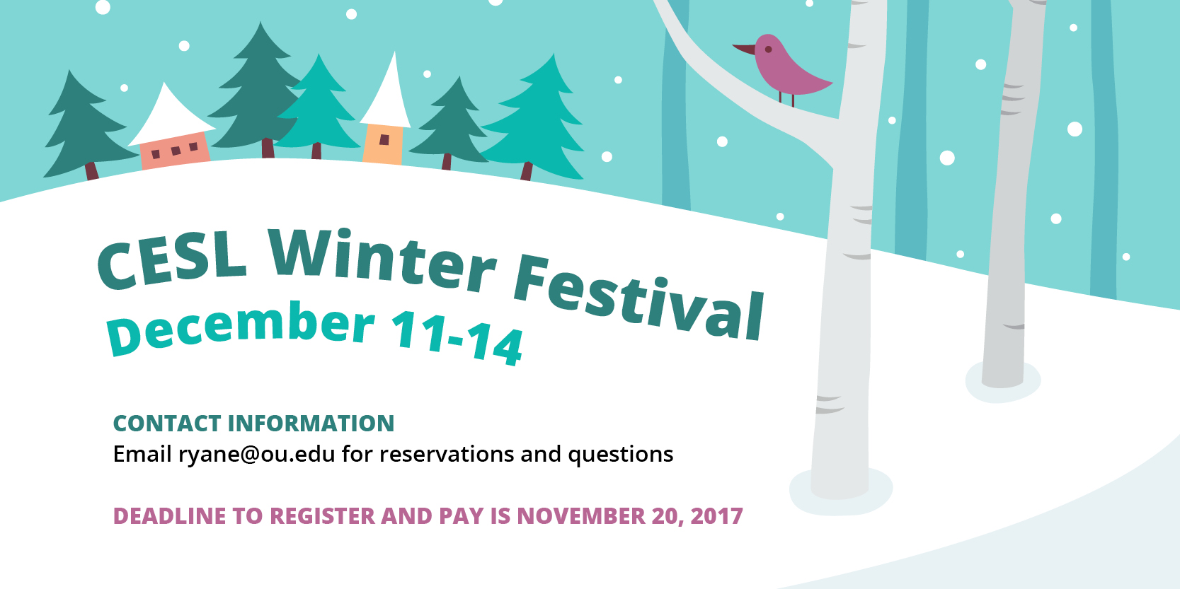 CELEBRATE WINTER WITH CESL