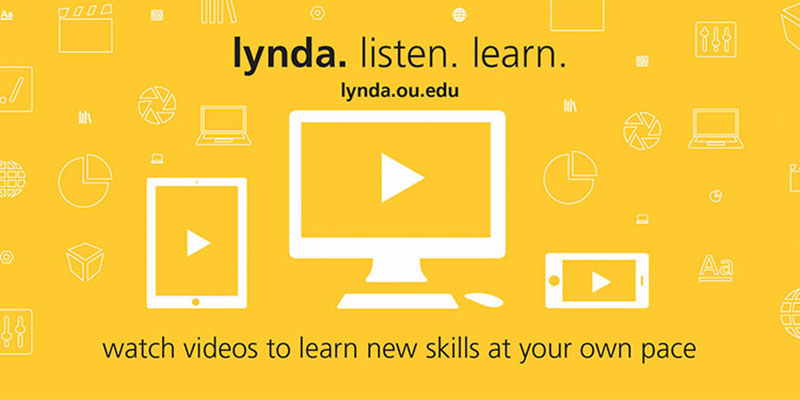 Web Tutorials, Lynda, the University, and You