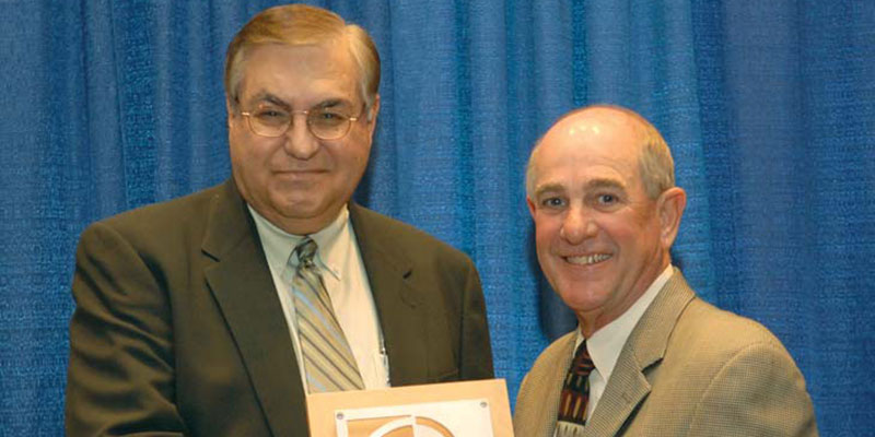 Dean Pappas Receives Highest Honor from UCEA
