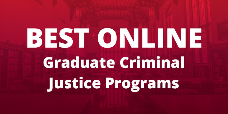 OU Online Criminal Justice Program Among Top in the Nation