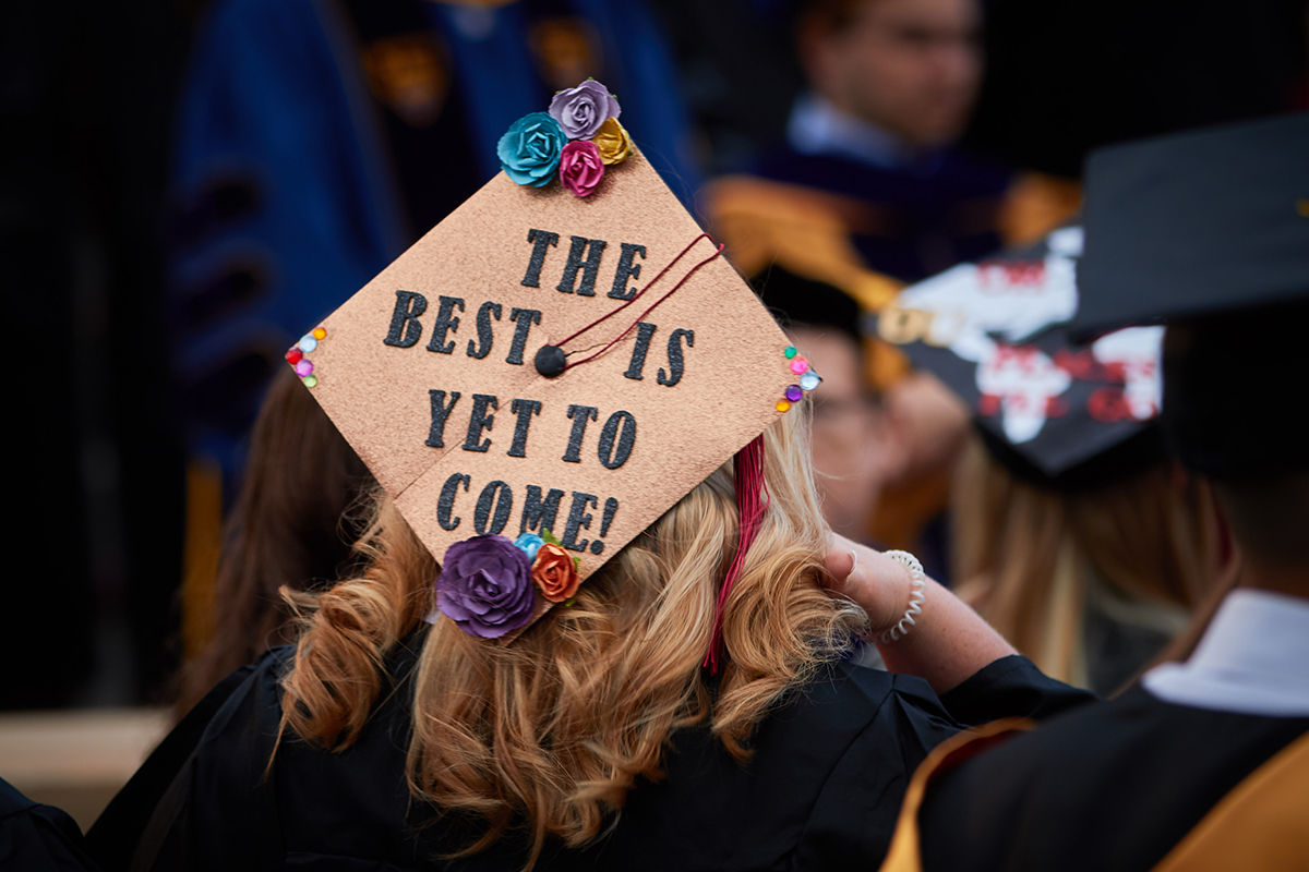 Our Favorite Graduation Mortarboards From Recent Years
