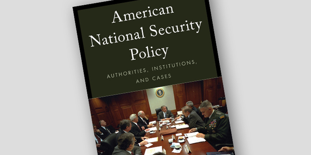 Fishel's book on American national security policy