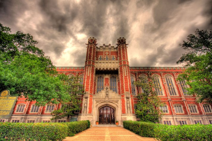 Photography of OU campus by Cecil Houser
