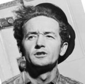 Woody Guthrie, one of the Oklahomans who changed the nation
