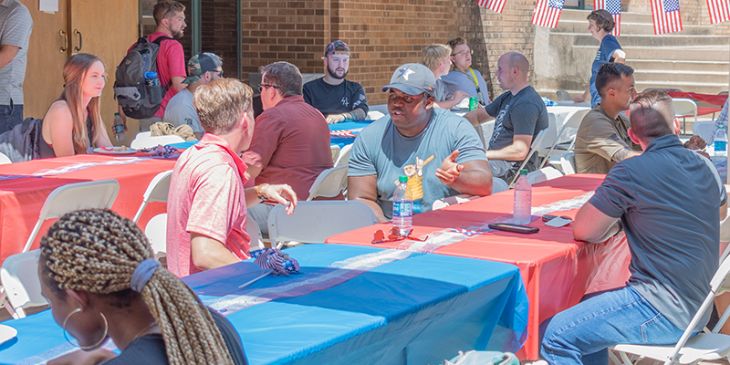 OU Veterans Enjoy SVA Howdy Luncheon