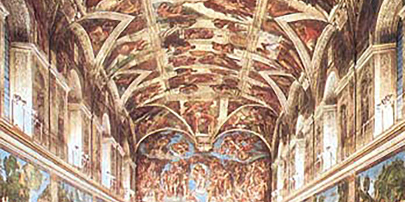 Michaelangelo's work as an example of full potential