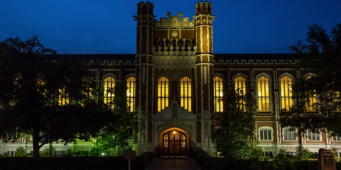 Ghost tour on the OU campus