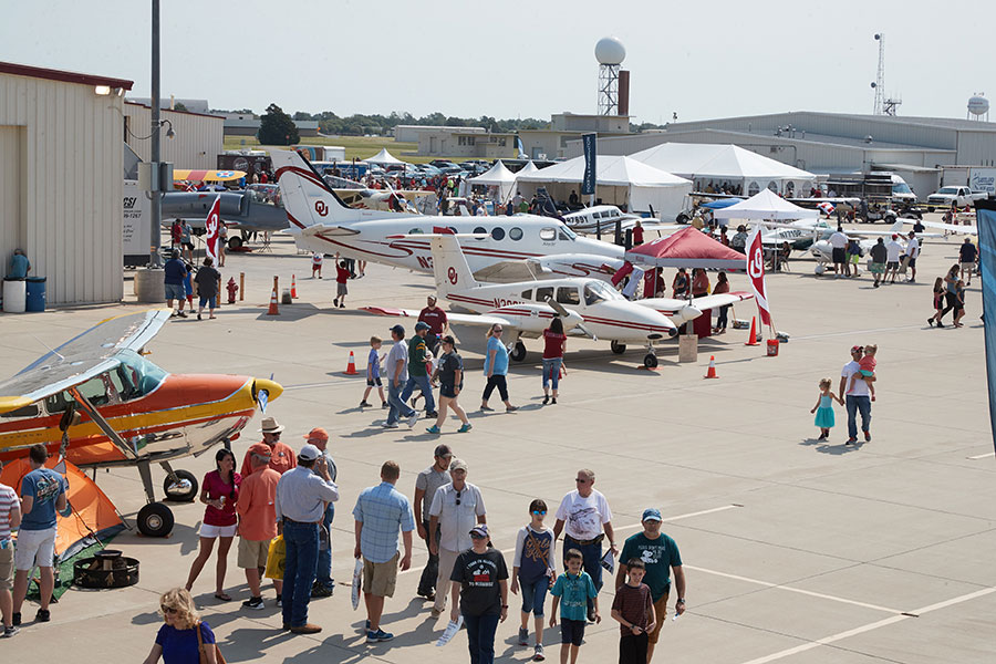 Activities at the Westheimer Aviation open house