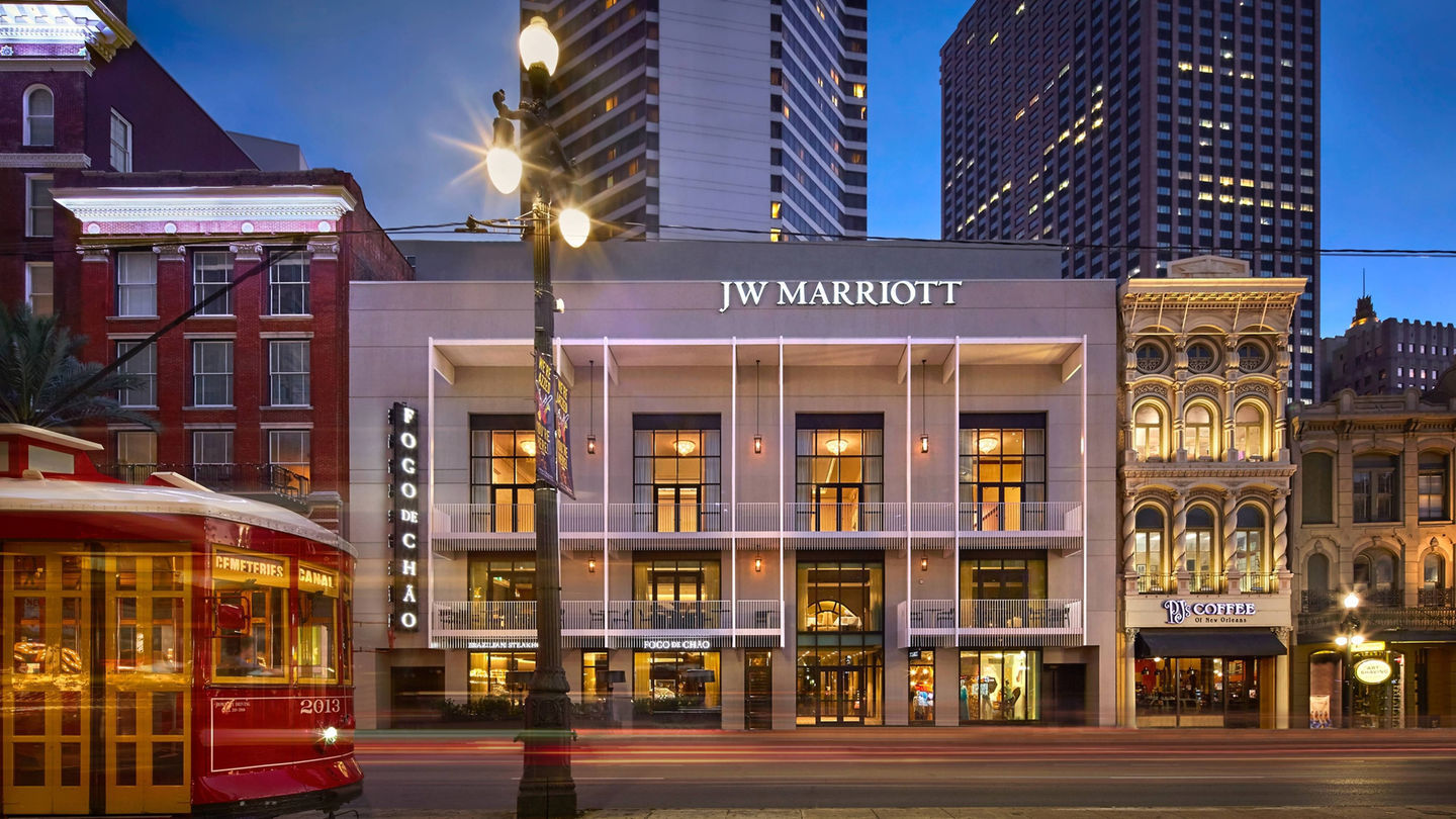 Exterior of JW Marriot