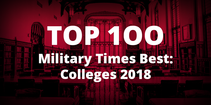 Military Times ranks OU among the best schools for veterans and active military