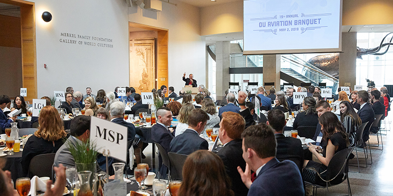 School of Aviation Studies Hosts 2019 Spring Banquet