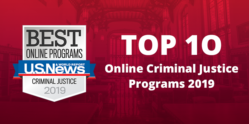Online Criminal Justice degrees rank top 10 by thebestschools.org