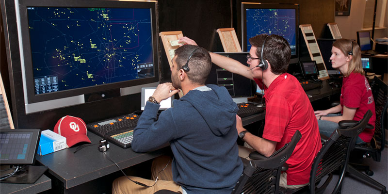 OU's Air Traffic Management Program Sets Students Up for Success
