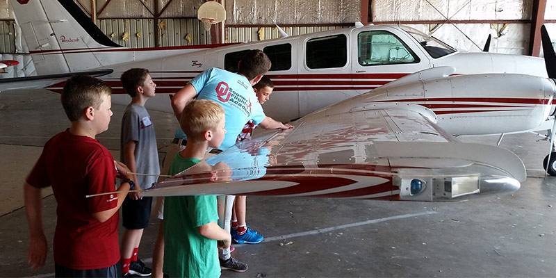 Sooner Flight Academy's Sooner Flight Camp awarded grant in 2017
