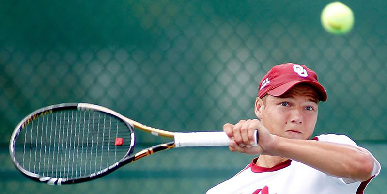 Administrative Leadership Student Clinches Big 12 Tennis Win