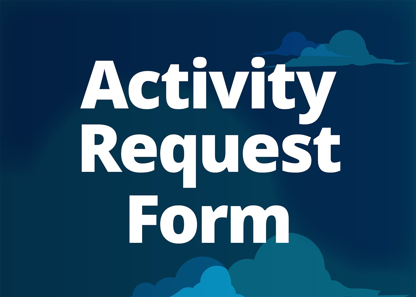 Activity Request Form