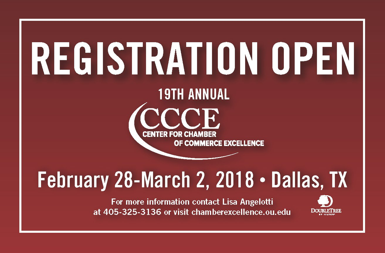Center for chamber of commerce excellence ou college of 2018 conference registration open 1betcityfo Images